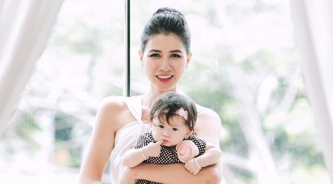 Trang Tran khoe con gai 7 thang tuoi hinh anh