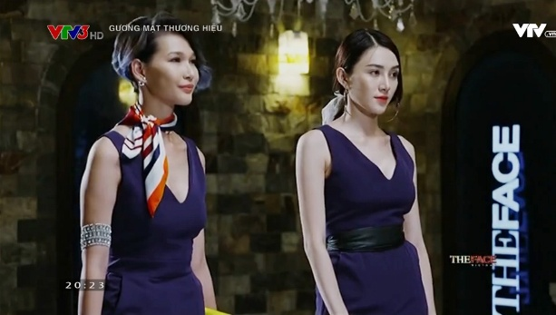 Thi sinh doi Pham Huong bi to gian lan o The Face hinh anh 3