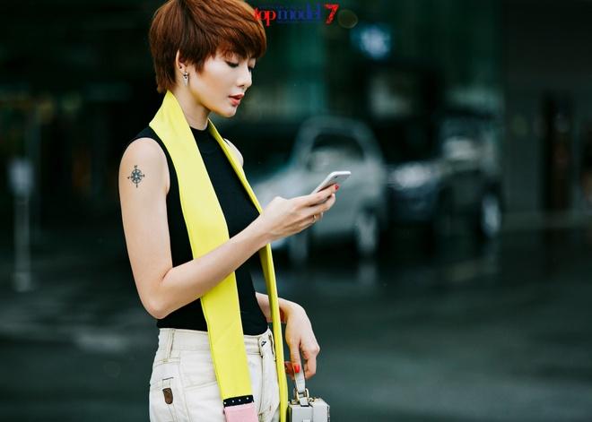 Kim Nha dien street style an tuong anh 6