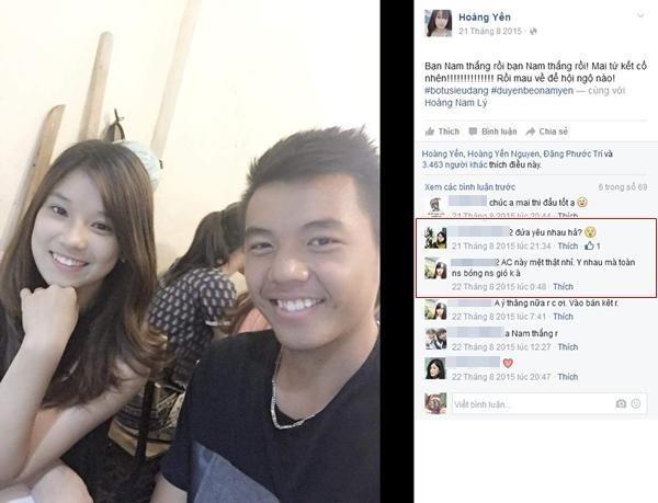 Hoang Yen: 'Toi va Ly Hoang Nam rat hop nhau' hinh anh 1