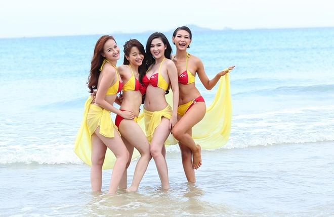 Pham Huong den tre khien cac thi sinh hoang mang hinh anh 11