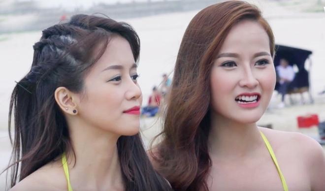 Pham Huong den tre khien cac thi sinh hoang mang hinh anh 2