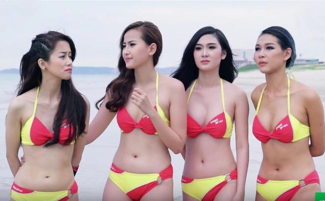 Pham Huong den tre khien cac thi sinh hoang mang hinh anh 1
