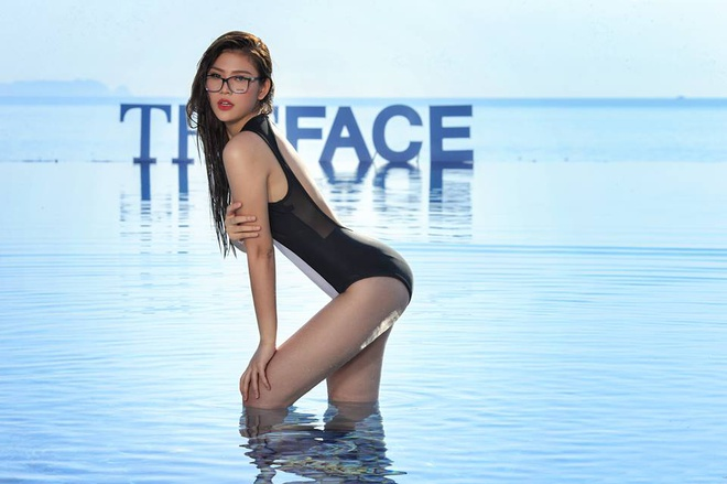 Ngam hinh the 11 thi sinh The Face voi bodysuit hinh anh 8