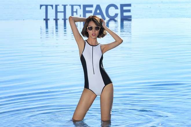 Ngam hinh the 11 thi sinh The Face voi bodysuit hinh anh 9