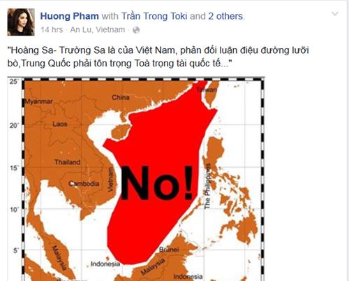 Sao Viet phan doi 'duong luoi bo' cua Trung Quoc anh 1