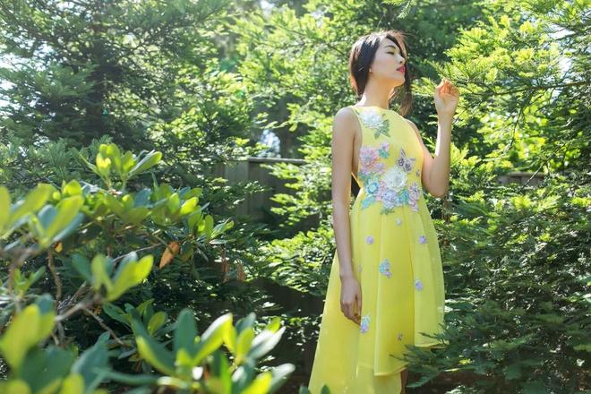 Le Hang lam duyen voi dam ren pastel hinh anh 6