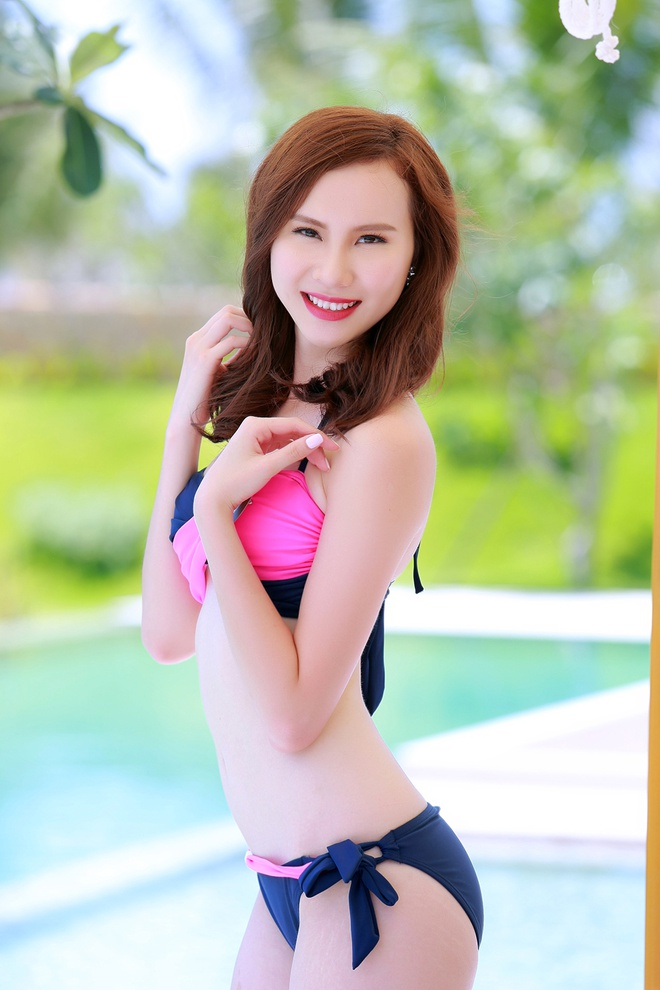 Nguoi dep HH Ban sac Viet dien bikini goi cam hinh anh 13