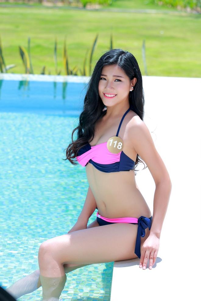 Nguoi dep HH Ban sac Viet dien bikini goi cam hinh anh 9