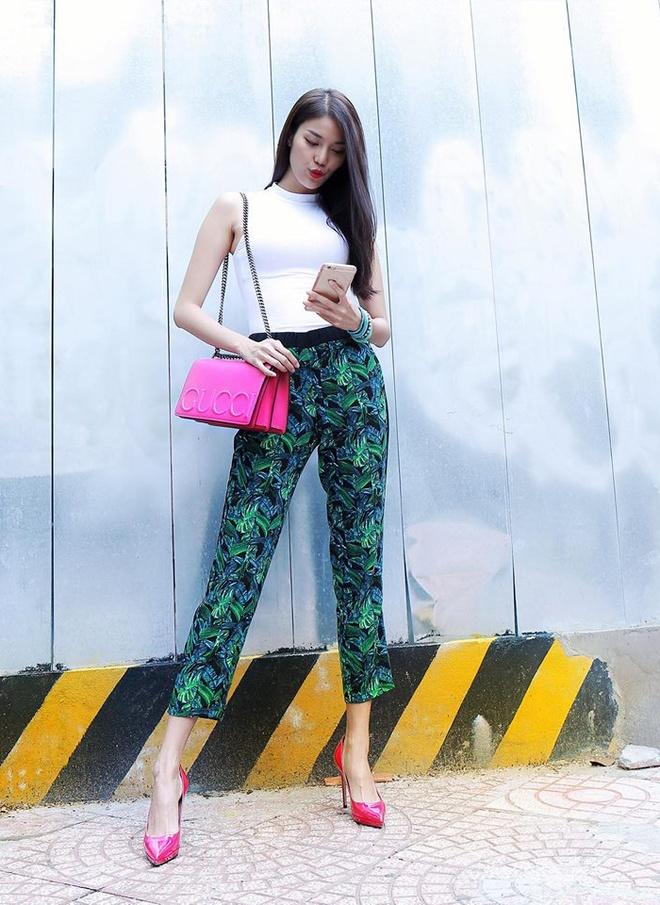 Cap nhap xu huong street style tu Lan Khue hinh anh 1