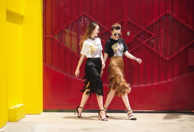 Yen Trang - Yen Nhi dien do doi xuong pho hinh anh 3