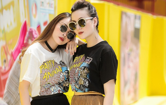 Yen Trang - Yen Nhi dien do doi xuong pho hinh anh 2