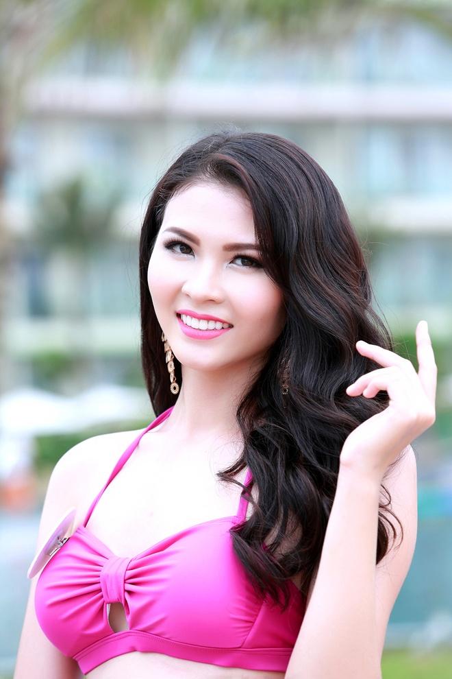 Nguoi dep Bien HH Ban sac Viet dien bikini goi cam hinh anh 3