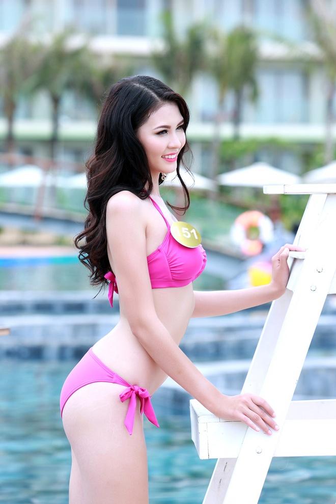 Nguoi dep Bien HH Ban sac Viet dien bikini goi cam hinh anh 4
