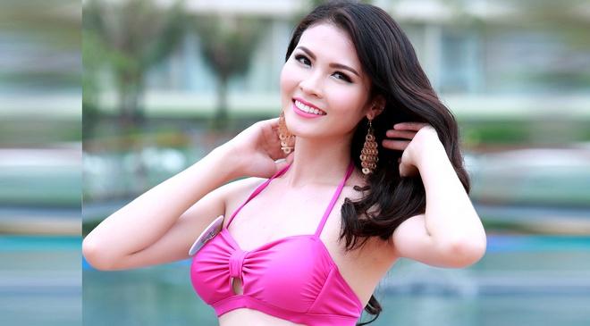 Nguoi dep Bien HH Ban sac Viet dien bikini goi cam hinh anh