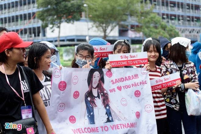 Fan Viet doi mua don Dara (2NE1) o san bay Tan Son Nhat hinh anh 4