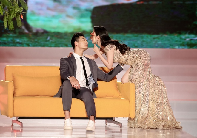 Ho Ngoc Ha huong dan hoc tro The Face quyen ru dan ong hinh anh 9
