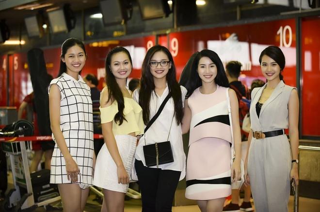 18 thi sinh Hoa hau phia Bac tap trung o TP HCM hinh anh 1