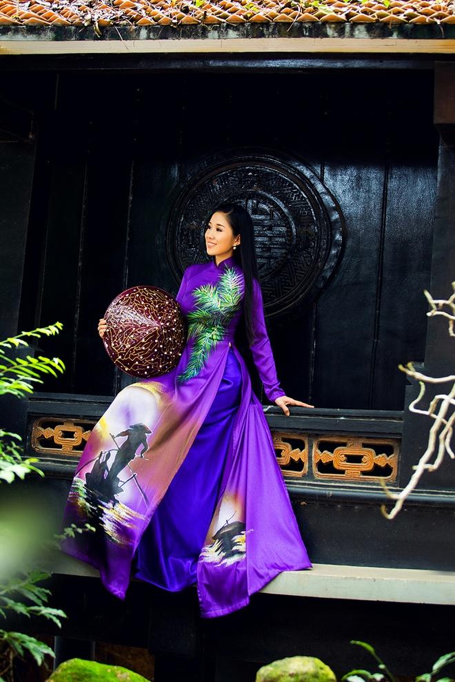 Le Phuong goi y mau ao dai dip Vu Lan hinh anh 6