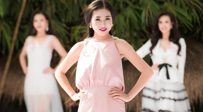 Nguoi dep giong Nguyen Thi Huyen noi bat canh thi sinh HHVN hinh anh