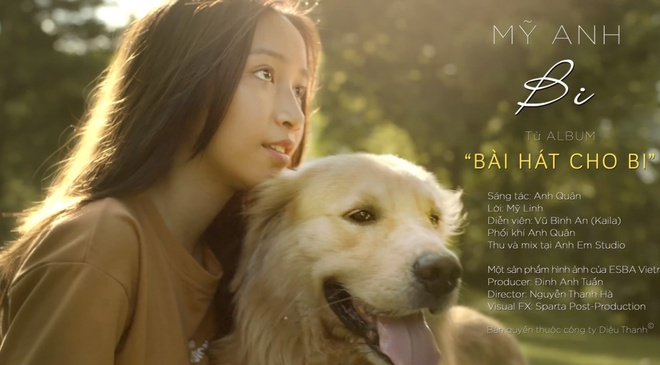 Con gai My Linh khoe giong ngot ngao trong MV tang me hinh anh