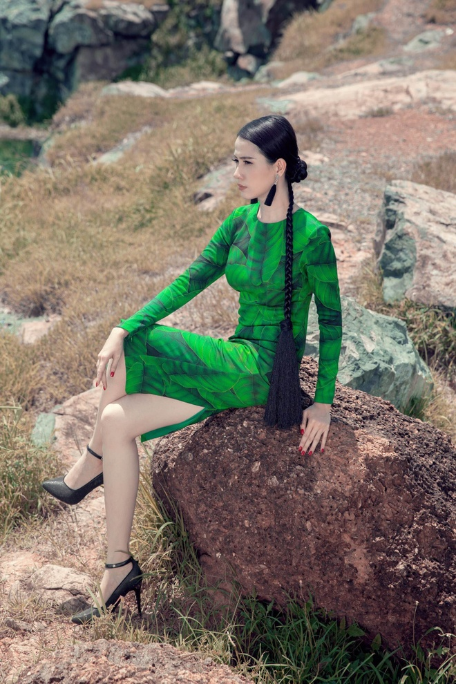 Phan Thi Mo goi y trang phuc goi cam dip cuoi tuan hinh anh 7