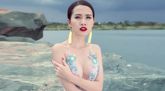 Phan Thi Mo goi y trang phuc goi cam dip cuoi tuan hinh anh