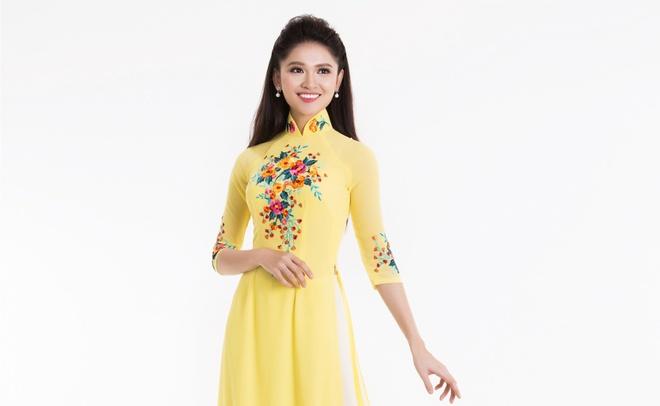 Top 3 Hoa hau Viet Nam 2016 duyen dang ao dai pastel hinh anh 4