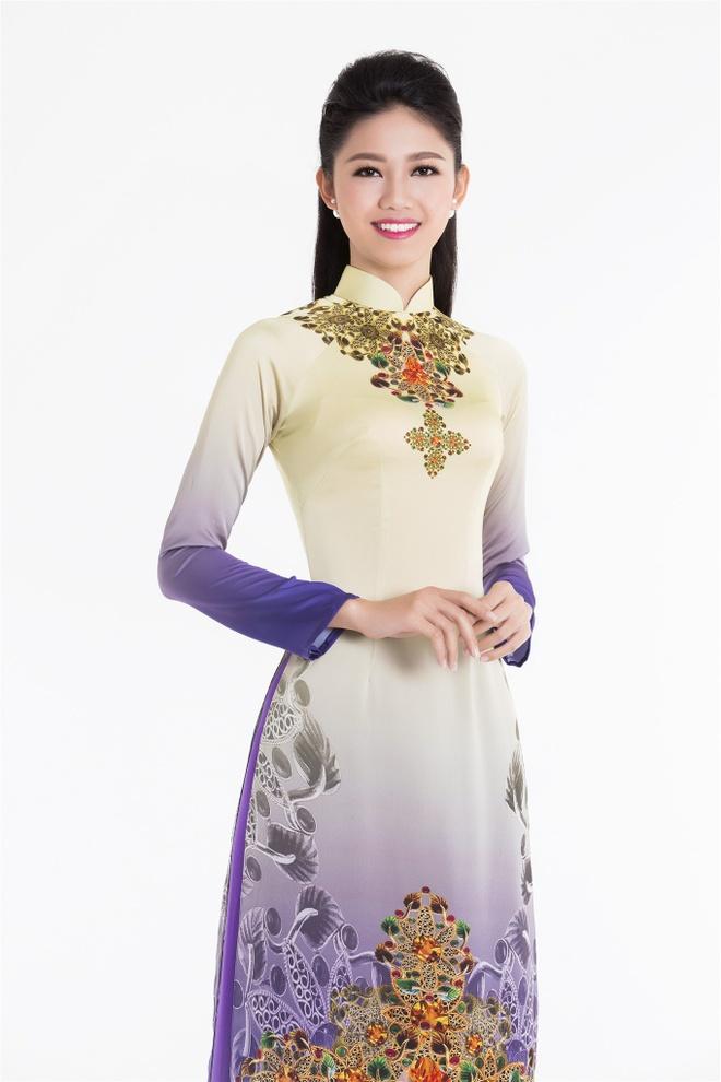 Top 3 Hoa hau Viet Nam 2016 duyen dang ao dai pastel hinh anh 6