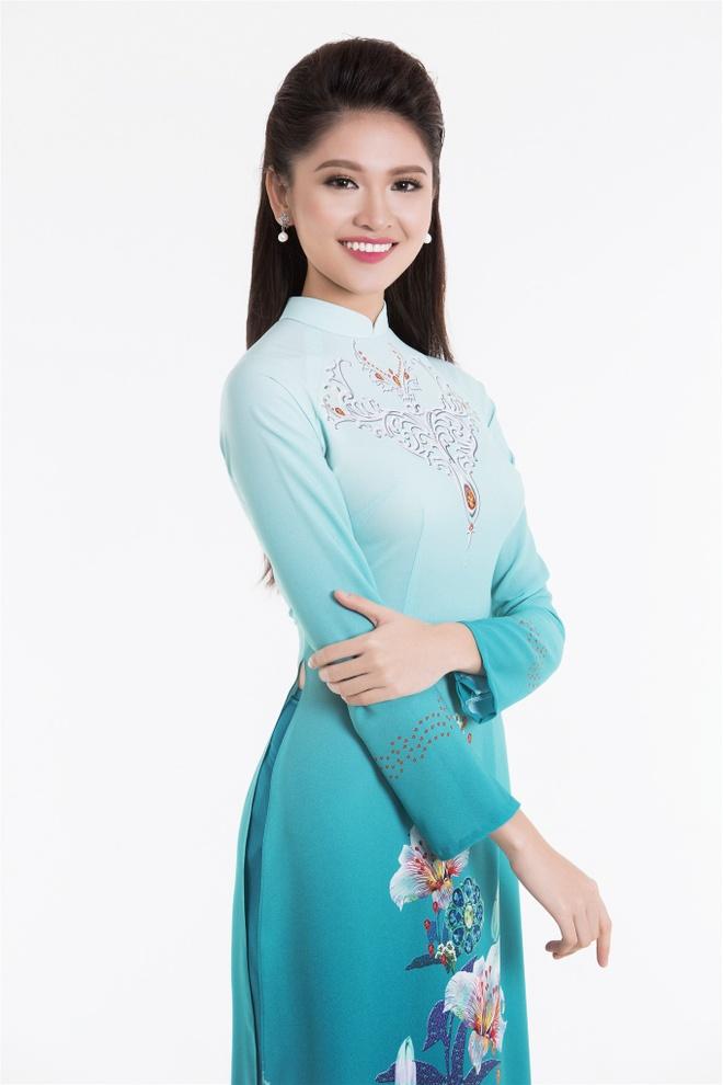 Top 3 Hoa hau Viet Nam 2016 duyen dang ao dai pastel hinh anh 7