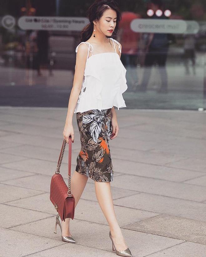 Thanh Hang, Hoang Thuy Linh mac dep nhat tuan hinh anh 3