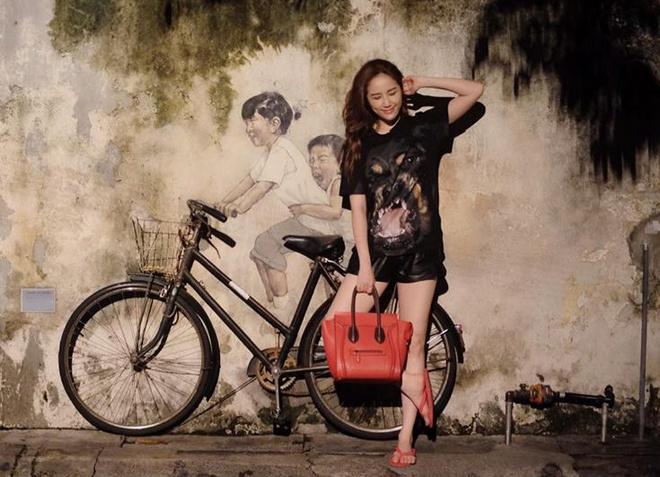 Thanh Hang, Hoang Thuy Linh mac dep nhat tuan hinh anh 6