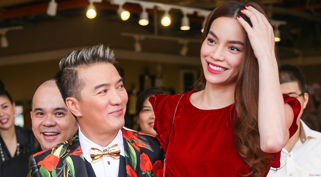 Ho Ngoc Ha than thiet voi Dam Vinh Hung hinh anh