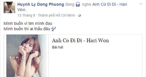 Truong The Vinh va ban gai co truong vuong nghi van chia tay hinh anh 3