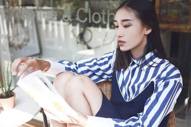 Trang Khieu goi y trang phuc dao pho mua thu hinh anh 2