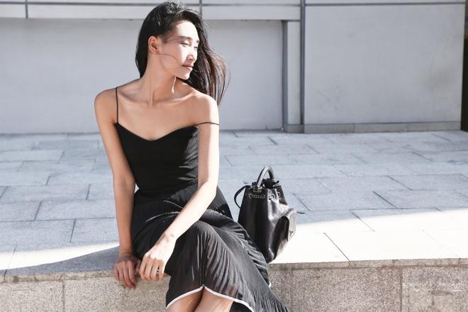 Trang Khieu goi y trang phuc dao pho mua thu hinh anh 5