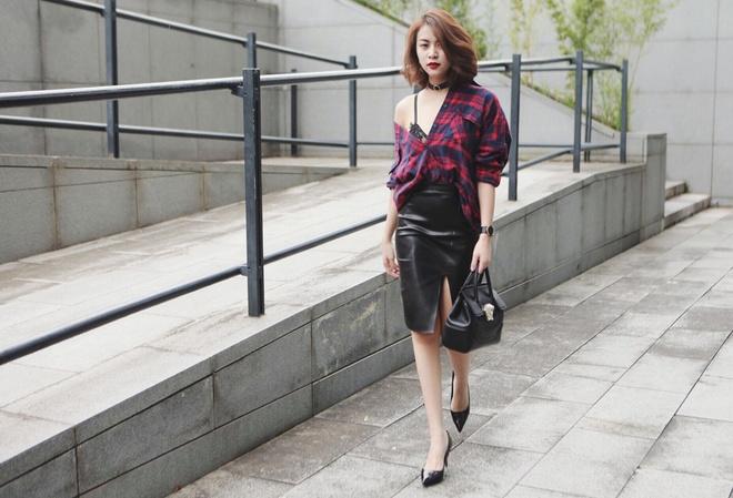 Hoang Thuy Linh xuong pho voi 7 set do mua thu hinh anh 6