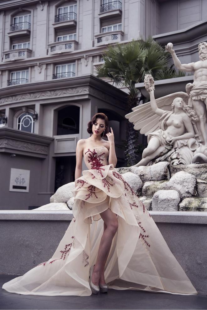 Kha Trang dien dam da hoi anh 6