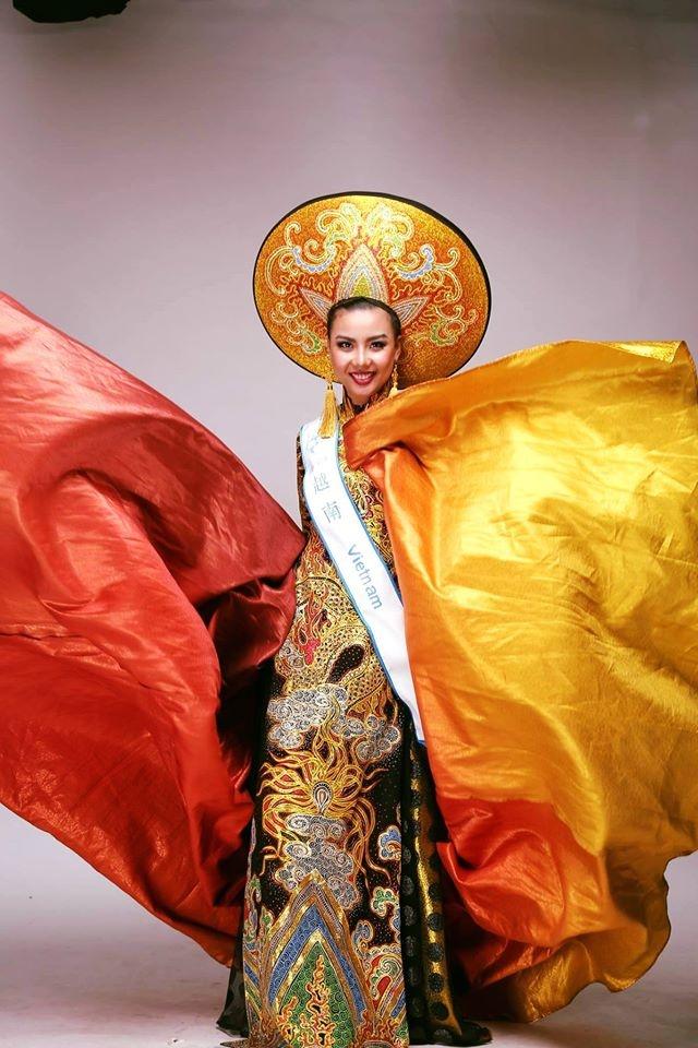 Lai Thanh Huong doat giai Trang phuc dan toc dep nhat hinh anh 1