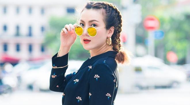 Yen Trang - Yen Nhi lang xe loat xu huong thu dong hinh anh