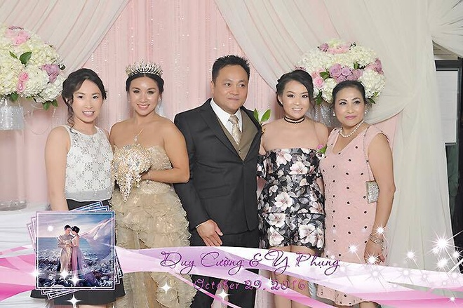 Y Phung hanh phuc ben chong trong dam cuoi lan 2 hinh anh 8