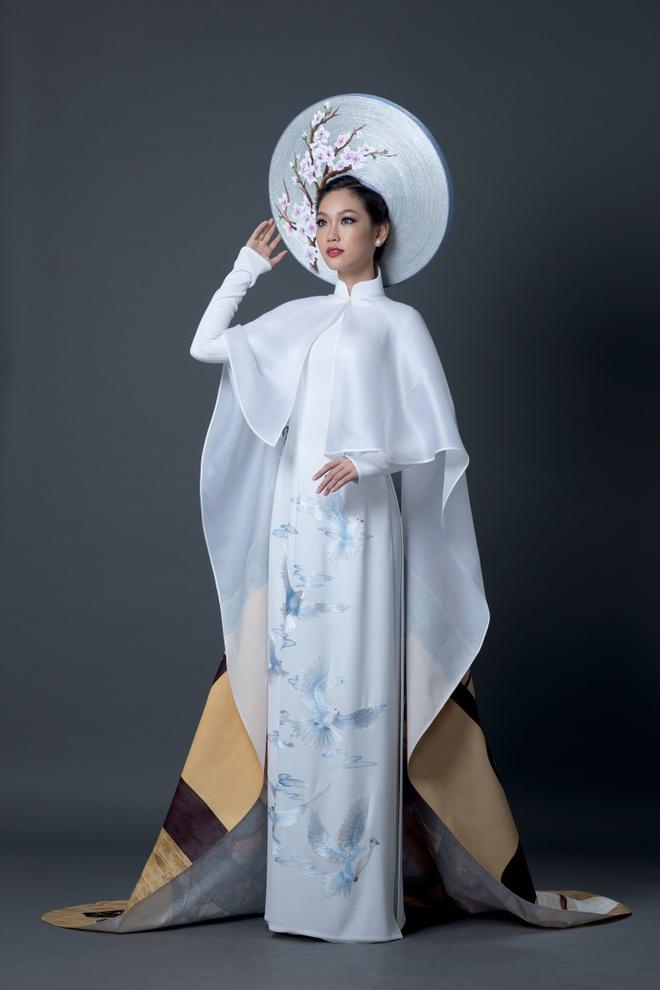 A khoi Ao dai chon quoc phuc in hinh co gai Viet hinh anh 5