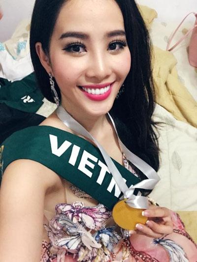Hanh trinh lot top 8 cua Nam Em tai Hoa hau Trai dat hinh anh 5