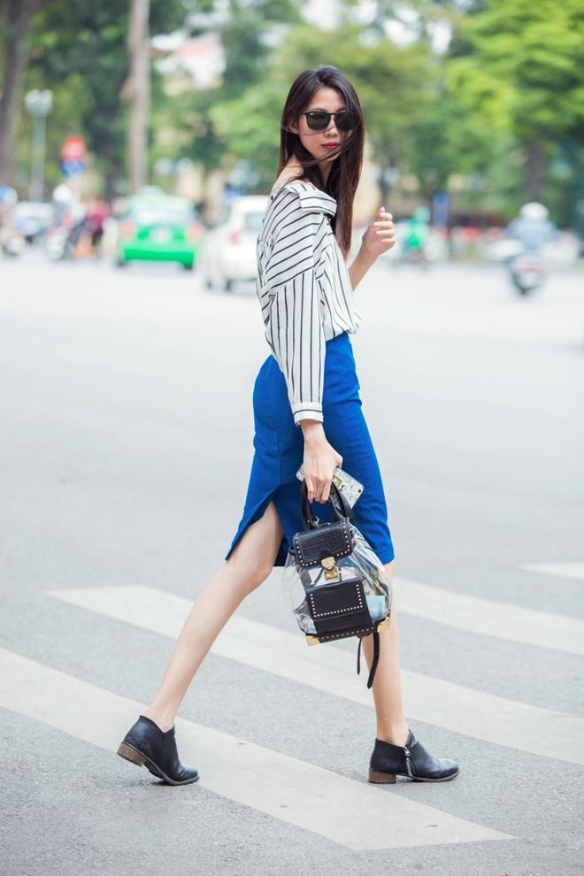 Street style ben le Tuan le Thoi trang quoc te VN anh 2