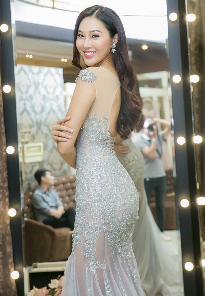 Dieu Ngoc thu trang phuc truoc ngay sang My thi Miss World hinh anh 6
