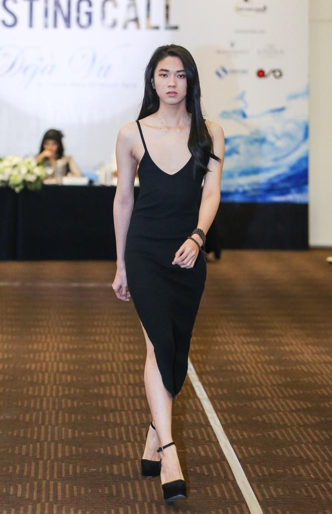 Diem Huong tap catwalk cho dan em anh 5