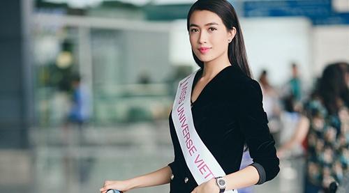 Le Hang duoc chon ghi hinh quang ba Miss Universe hinh anh