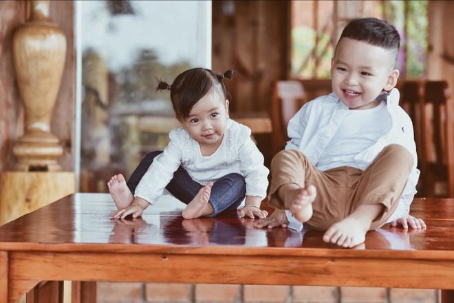 Con trai Diem Huong chup anh mung sinh nhat anh 3