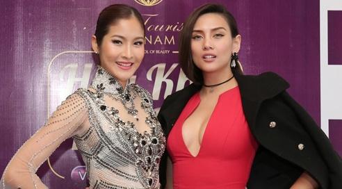 Hoa hau Hoan vu Thai Lan lam giam khao cuoc thi sac dep Viet hinh anh