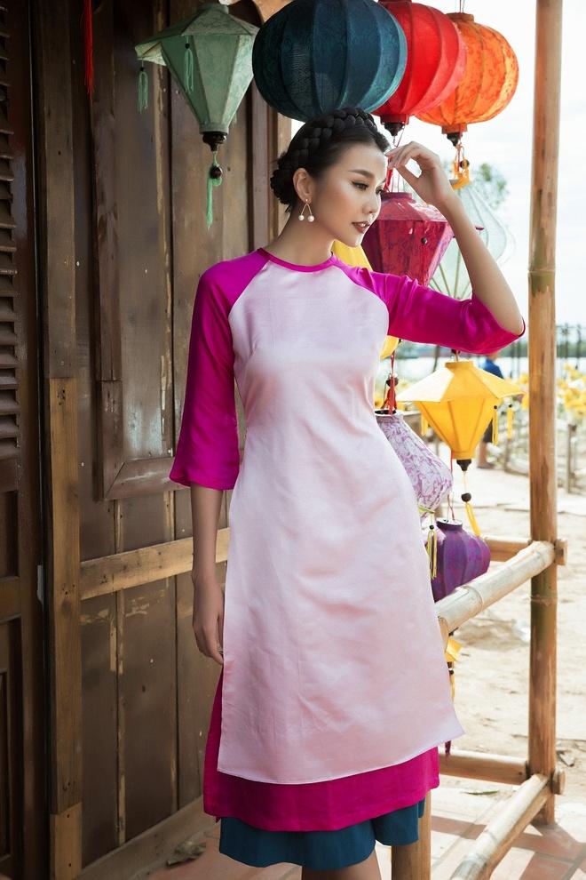Thanh Hang goi y ao dai cach tan du xuan hinh anh 4